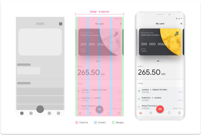 Screenshot from the UX\UI case study